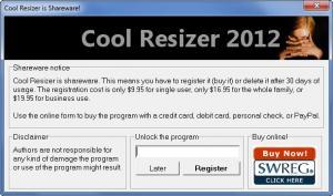 Enlarge Cool Image Resizer Screenshot