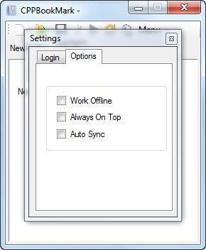Enlarge CPPBookMark Screenshot