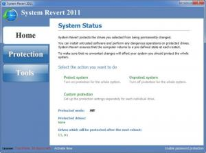 Enlarge System Revert Screenshot