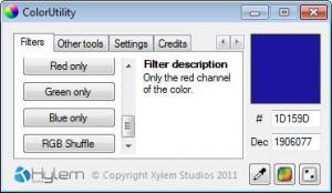 Enlarge ColorUtility Screenshot
