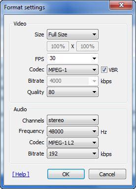 Enlarge Bandicam Screenshot