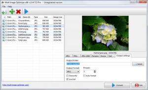 Enlarge Multi Image Optimizer Screenshot