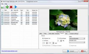 Enlarge Multi Image Optimizer Screenshot