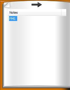 Enlarge SADAH Quick Notes Screenshot