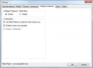 Enlarge Metal Player Screenshot
