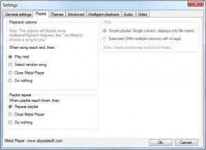 Enlarge Metal Player Screenshot