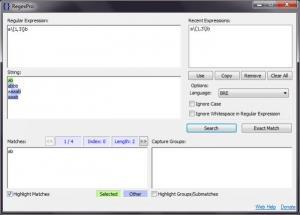 Enlarge RegexPro Screenshot