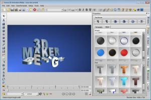 Enlarge Aurora 3D Animation Maker Screenshot