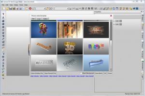 Enlarge Aurora 3D Text & Logo Maker Screenshot