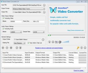 Enlarge Stone Video Converter Screenshot