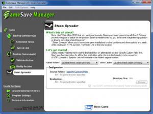 Enlarge GameSave Manager Screenshot