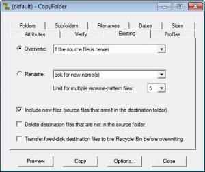 Enlarge CopyFolder Screenshot
