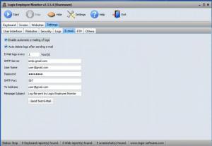Enlarge Logix Employee Monitor Screenshot