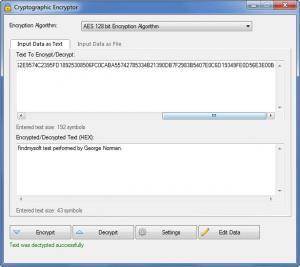 Enlarge VSEncryptor Screenshot
