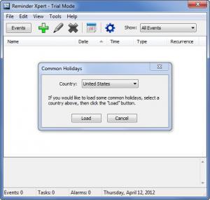 Enlarge Reminder Xpert Screenshot