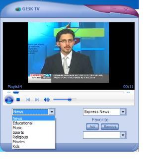 Enlarge GE3K TV Screenshot