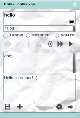 Enlarge Driller Vocabulary Screenshot