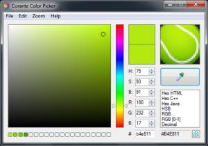 Enlarge Corante Color Picker Screenshot