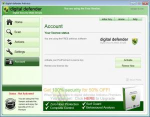 Enlarge Digital Defender Antivirus Free Screenshot