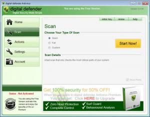 Enlarge Digital Defender Antivirus Free Screenshot