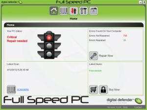 Enlarge Digital Defender Fullspeed PC Screenshot
