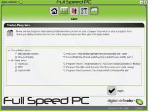 Enlarge Digital Defender Fullspeed PC Screenshot