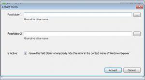 Enlarge Mirror Folders Screenshot