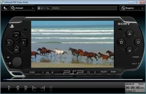 Enlarge PSP Video Writer Screenshot