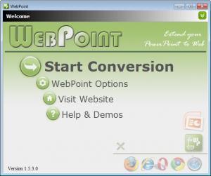 Enlarge WebPoint Screenshot