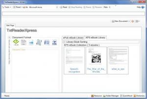 Enlarge TxtReaderXpress Screenshot