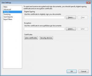 Enlarge eDocuments Scan Screenshot