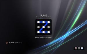 Enlarge XUS PC Lock Screenshot