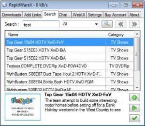 Enlarge RapidWareX Screenshot