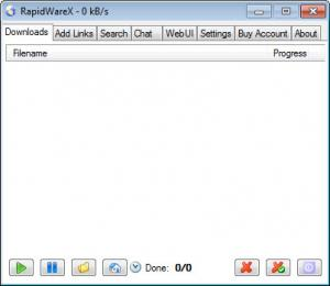 Enlarge RapidWareX Screenshot