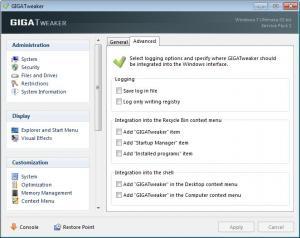 Enlarge GIGATweaker Screenshot