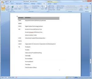 Enlarge Acronyms Master Pro Screenshot