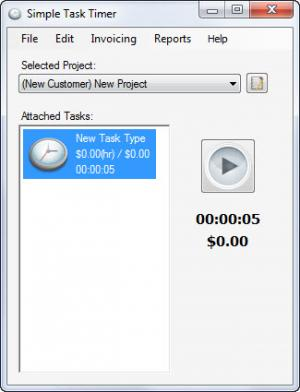 Enlarge Simple Task Timer Screenshot