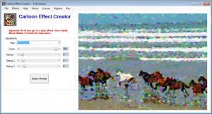Enlarge Cartoon Effect Creator Screenshot