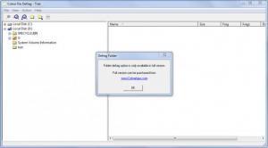 Enlarge Cobra File Defrag Screenshot
