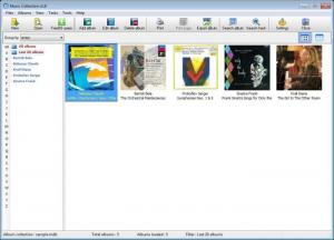 Enlarge GSoft4U Music Collection Screenshot