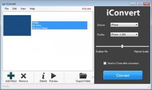 Enlarge iConvert Screenshot