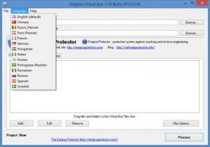Enlarge Enigma Virtual Box Screenshot