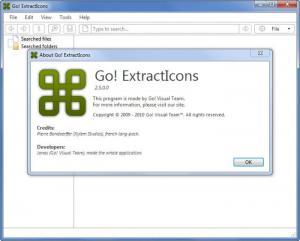 Enlarge Go! ExtractIcons Screenshot