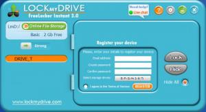 Enlarge LockMyDrive Strong Screenshot