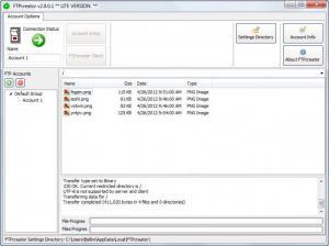 Enlarge FTPcreator Lite Screenshot