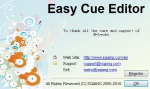 Enlarge Easy Cue Editor Screenshot