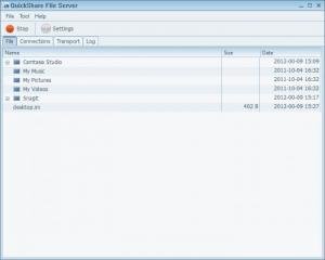 Enlarge QuickShare File Server Screenshot