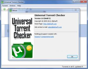 Enlarge Universal Torrent Checker Screenshot