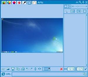 Enlarge Arta Screenshot