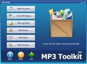 Enlarge MP3 Toolkit Screenshot
